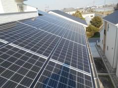 埼玉県吉川市 T様邸《太陽光設置工事》