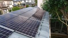 千葉県流山市 T様邸 《太陽光設置工事》