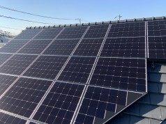 埼玉県さいたま市 K様邸 《太陽光・エコキュート・マイクロバブル設置工事》