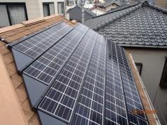埼玉県八潮市 A様邸 《太陽光・蓄電池設置工事》